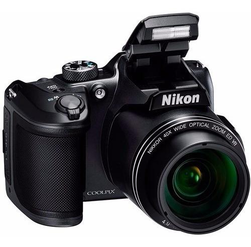 nikon cámara b500 16.0 mp zoom 40x wifi nfc full hd movie w7