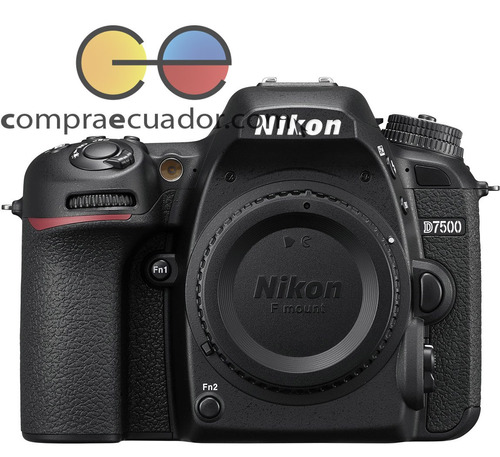 nikon cámara profesional d7500 cuerpo 20.9 mp 4k wifi 8 cps