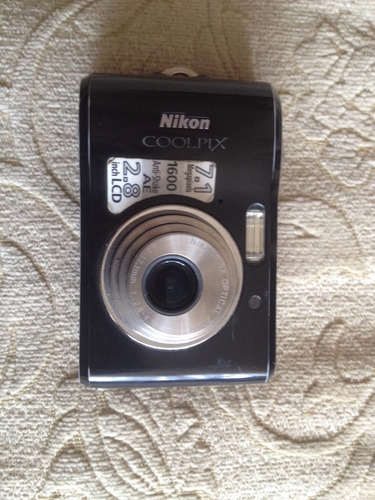 nikon coolpix 7.1 mp con lente trabado