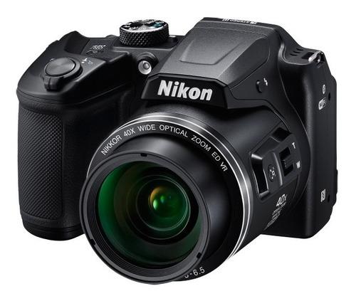 nikon coolpix b500 40x zoom wifi + 32gb + bolso + tripode