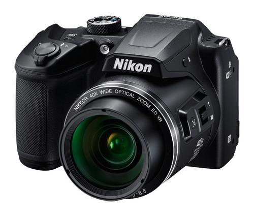 nikon® coolpix b500 cámara digital zoom 40x full hd wifi nfc