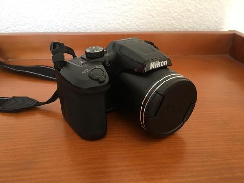 nikon coolpix b500 + sandisk ultra 64 gb +case logic dcb-304