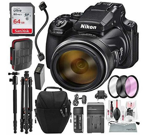 nikon coolpix p1000 167 camara digital con wifi integrado y