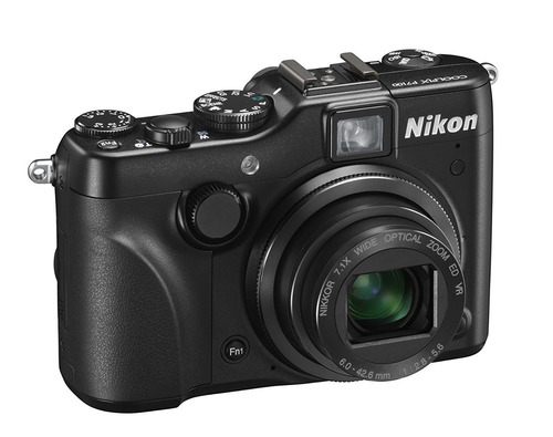 nikon coolpix p7100, 10.1 mp, video hd. nueva.r y m