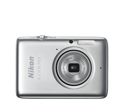nikon coolpix s02 color plata ultra compacta