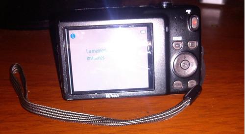 nikon coolpix s3100 usada