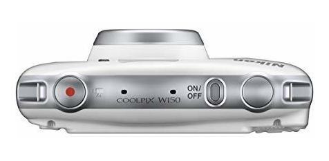 nikon coolpix w150, blanco, compacto