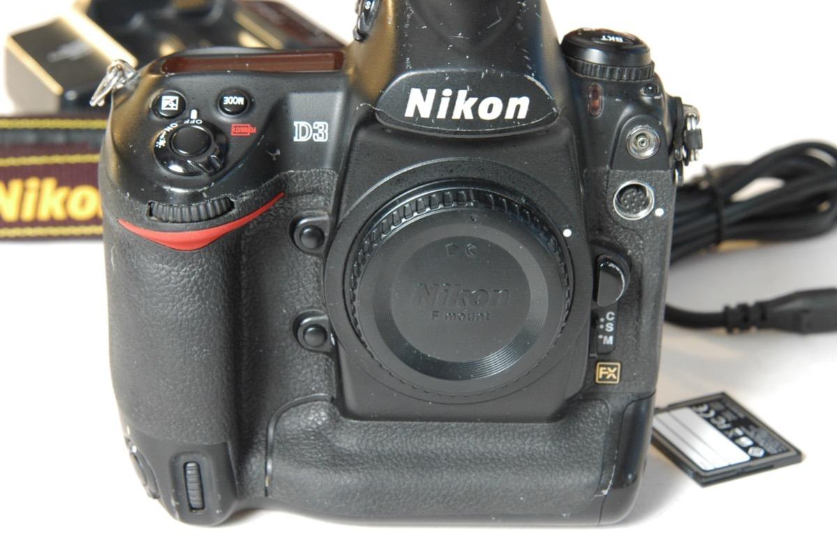 Nikon D3 Camera 10 Fotos Por Segundo D3s D4 D700 D300s