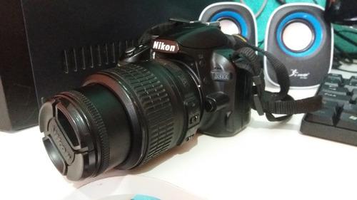 nikon d3100 - câmera profissional