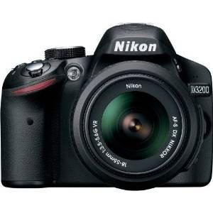 nikon d3200 24.2 mp cmos digital slr con 18-55mm f / 3.5-5.6