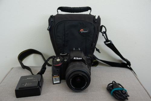 nikon d3200 kit completo