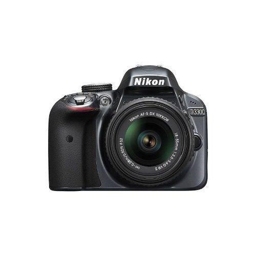 nikon - d3300 cámara réflex digital con lente de 18-55mm vr