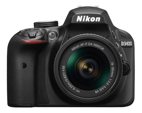 nikon d3400 kit 18-55+memoria en stock!!!!!