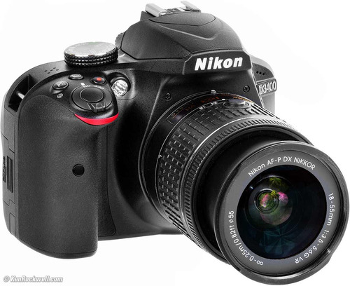 nikon d3400 kit 18-55+sd32gb+maleta