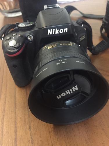nikon d5100 + lente do kit 18-55mm + 2 lentes + acessórios
