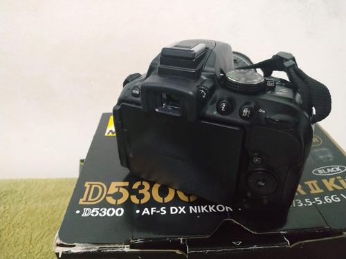 nikon d5300 + 18-55mm (3 mil cliques)