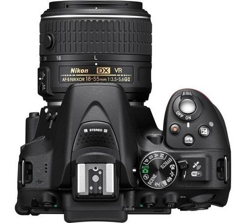 nikon d5300 18-55mm vrii af-p + bolsa+tripé+32gb classe 10