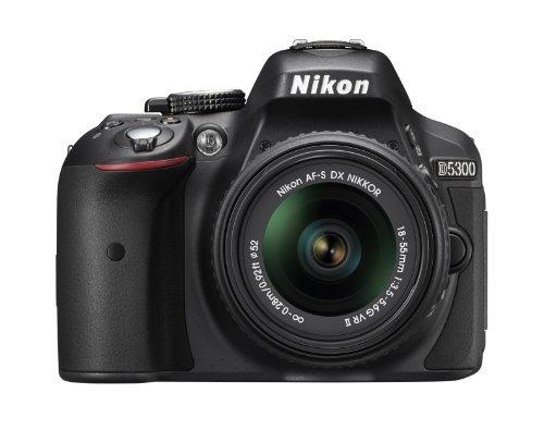 nikon d5300 cámara réflex digital cmos de 24.2 mp con 18-55m