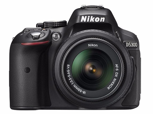nikon d5300 kit 18-55mm af-p, tripode 1,35mts+16gb+ bolso