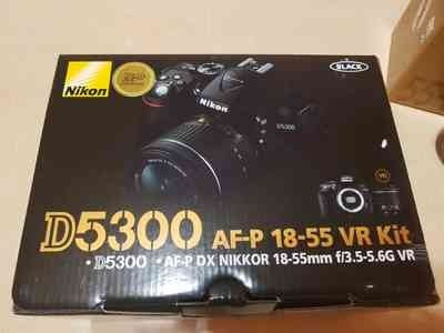 nikon d5300+kit lente 18-55mm vr full hd 24,2mp+memoria 32gb