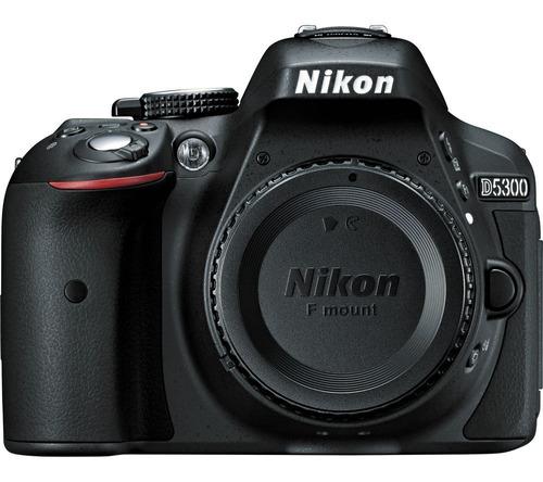 nikon d5300 sólo cuerpo incluye memoria 64gb + bolso