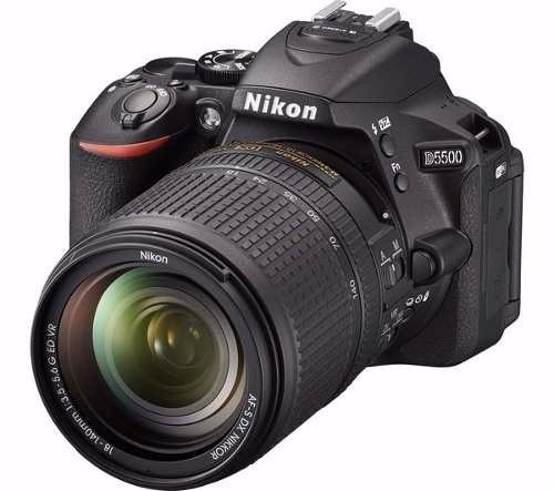 nikon d5500 18-140mm vr + 32gb bonus local miraflores