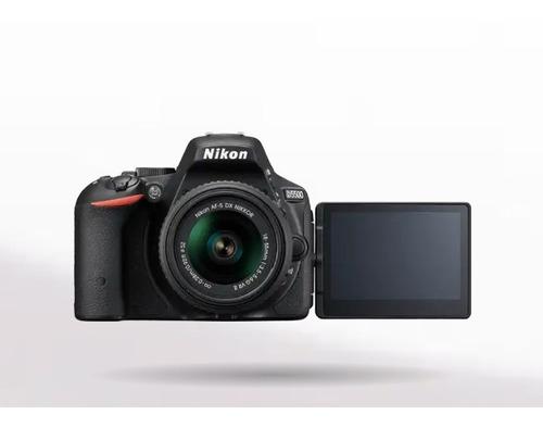 nikon d5500 con lente 18-55 mm y wifi