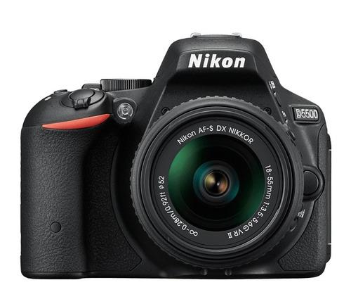 nikon d5500 kit 18-55 en stock - envíos ! oferta !
