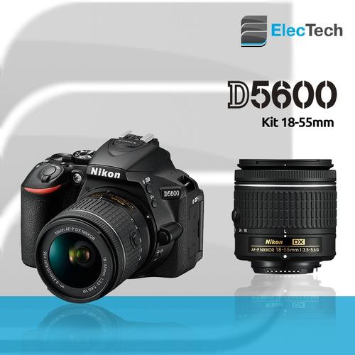 nikon d5600 18-55mm af-p, tripode 1,35mts+16gb+ bolso+ envio
