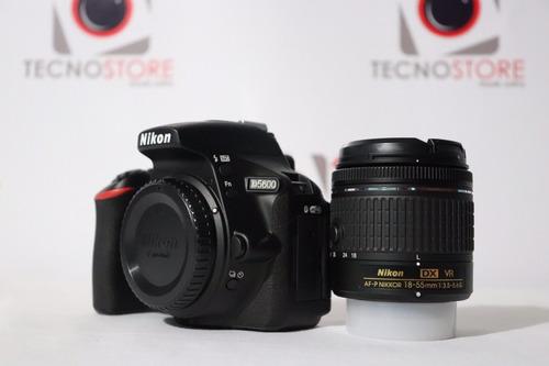 nikon d5600 + 18-55mm, buen precio