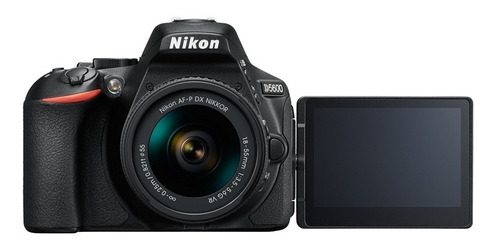 nikon d5600 24mp wifi touch + bolso +32gb cl10 + trip. 1,02