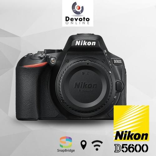 nikon d5600 5600 18-55 +  memoria 16gb + bolso + garantia