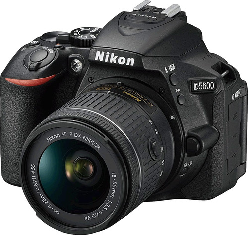 nikon d5600 profesional 24.2mp touch gps full hd lente 16gb