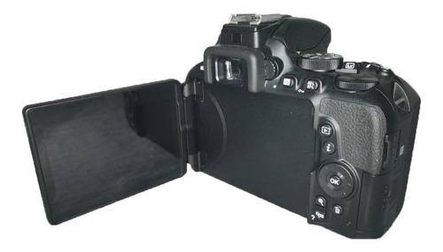 nikon d5600 seminova perfeita c/ lente 18-55mm e acessórios