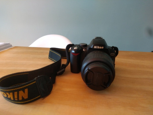 nikon d60 com lente 18-55 e carregador