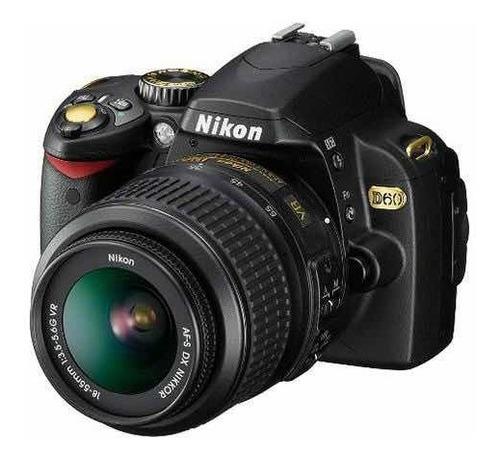 nikon d60 usada mais 2 lentes(ver descrição)
