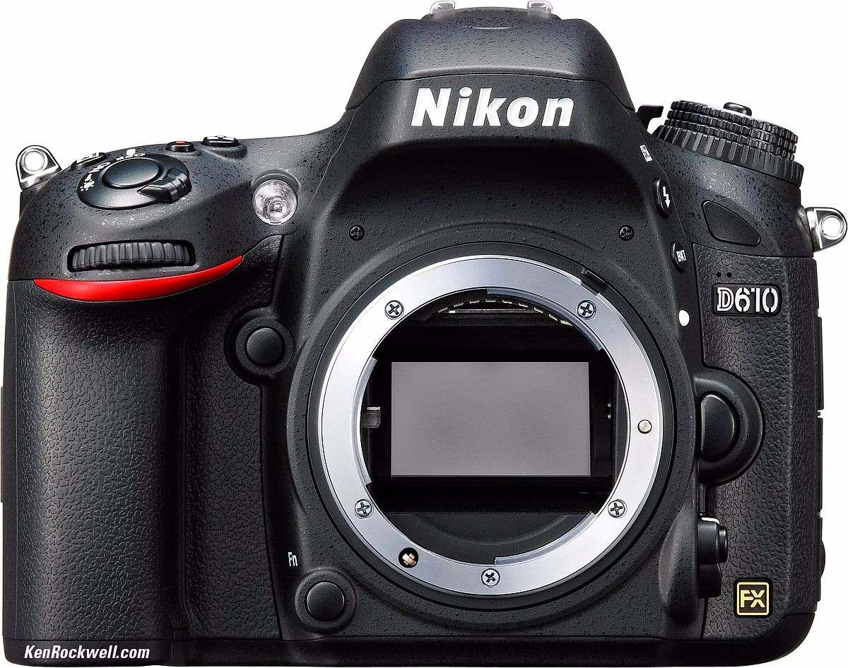 Nikon D610 Body 24,3mp Full Hd Full Frame Sup D7200 D7100 - $ 47.900 ...