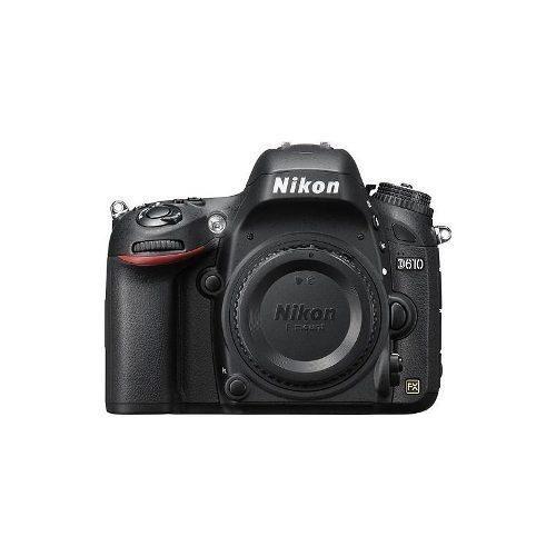 nikon - d610 cámara réflex digital (sólo el cuerpo) - negro
