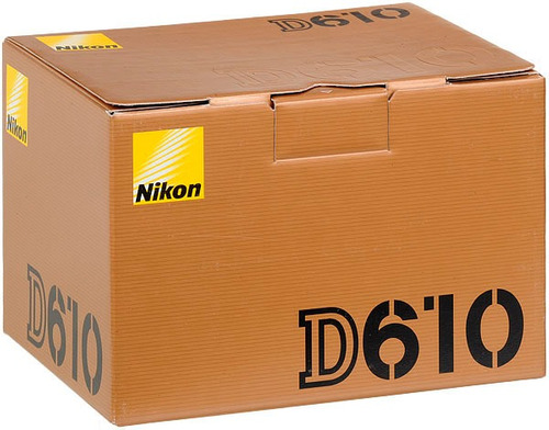 nikon d610 (corpo) - 24mp