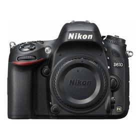Nikon D610 Dslr Cor Preto - 31.800 Clicks