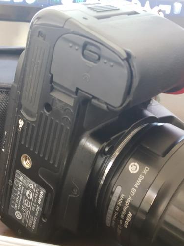 nikon d7000 sem lente! somente corpo