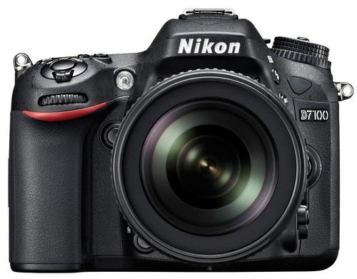 nikon d7100 + kit 18-105mm - 24mp