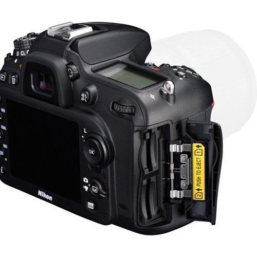 nikon d7200, 24.2mp. con lente 18-55mm, r y m