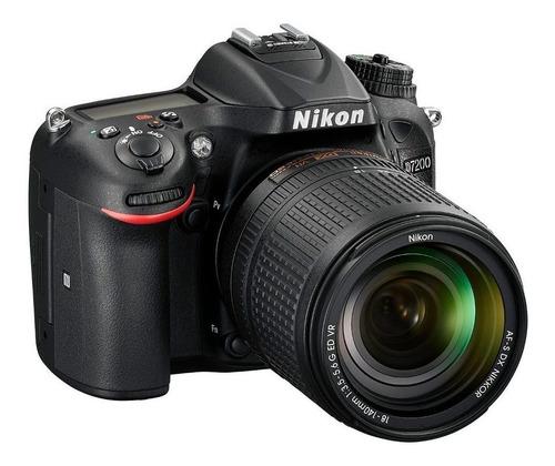 nikon d7200  24.2mp + lente18-140mm