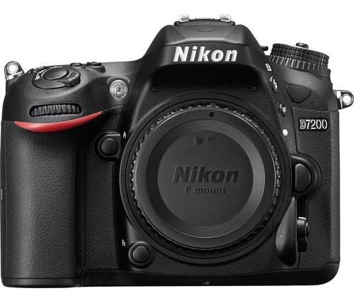 nikon d7200 con lente 18-55mm incluye memoria 64gb + bolso