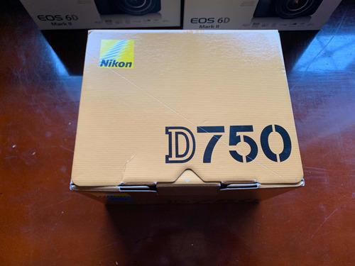 nikon d750 solo cuerpo buen precio