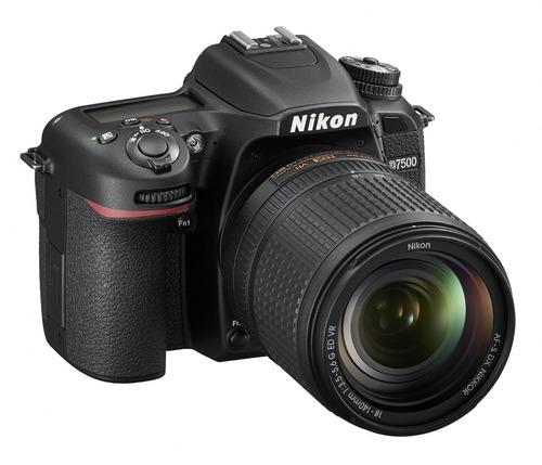 nikon d7500 profesional+  lente 18-140mm+tarjeta sd de 32gb