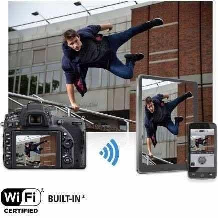 nikon d75024,3mp hd 1080p fx-format digital slr camera