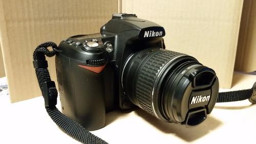 nikon d90 con 18/55 como nueva y equipo adicional.