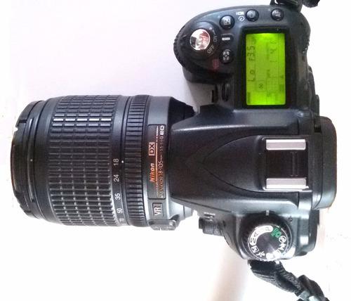 nikon d90 lente 18mm-105mm